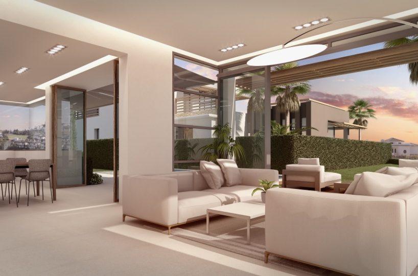 Villa for Sale in Riviera del Sol, Riviera del Sol, Mijas Costa, Costa del Sol, Spain 3 Bed. Property for Sale in Riviera del Sol, Riviera del Sol, Costa del Sol, Spain (Ref 834)