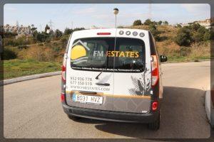 FM Estates Car - FM Estates, Real Estate Agents selling properties in Mijas Costa