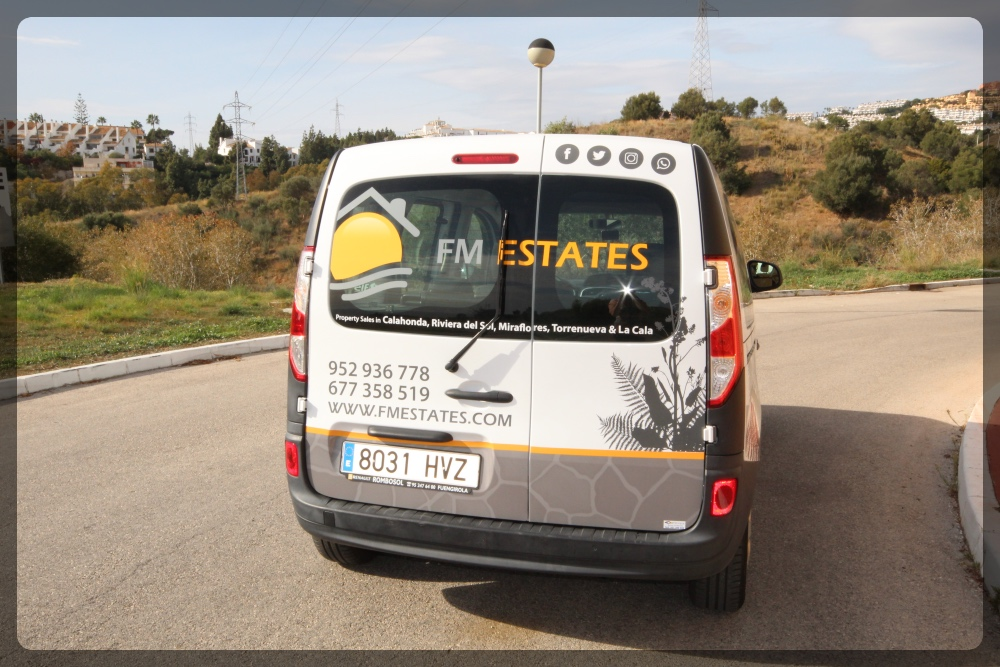 FM Estates Car - FM Estates, Real Estate Agents selling properties in Mijas Costa