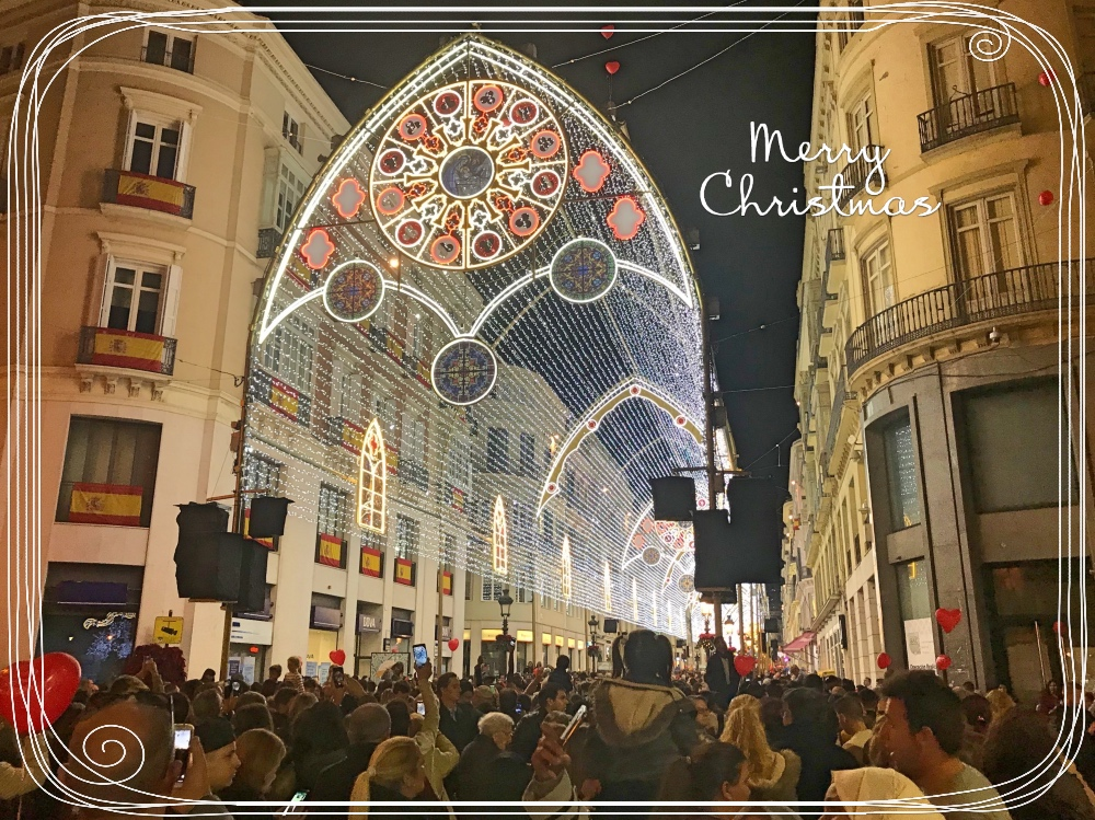 Malaga Christmas lights 2017 FM Estates Real Estate Agents Costa del Sol